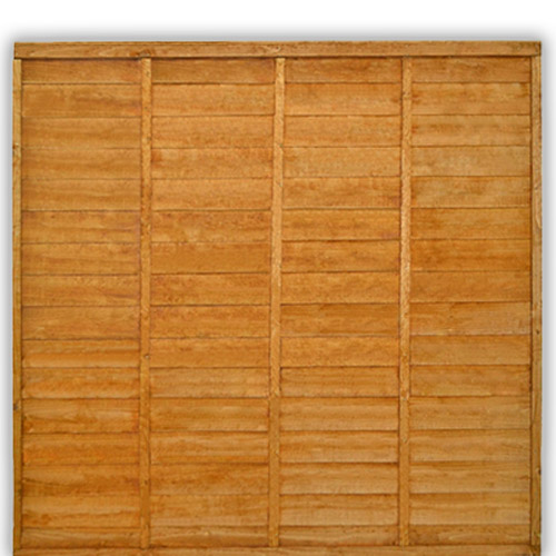 Lap Fence Panel 6ft x 6ft