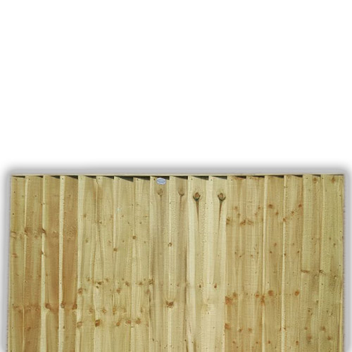Feather Edge Fence Panel 3ft x 6ft