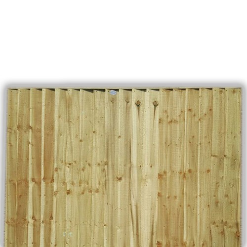 Feather Edge Fence Panel 4ft x 6ft