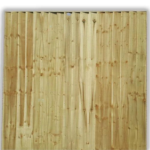 Feather Edge Fence Panel 6ft x 6ft