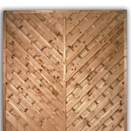 York Flat Fence Panel 1800mm x 1800mm