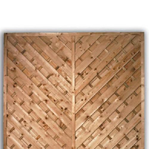 York Flat Fence Panel 1500mm x 1800mm