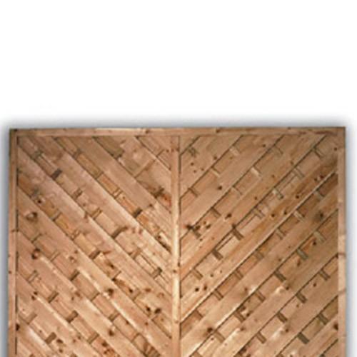 York Flat Fence Panel 1200mm x 1800mm