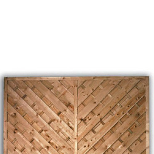 York Flat Fence Panel 900mm x 1800mm