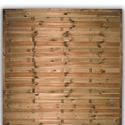 Devon Flat Fence Panel 1800mm x 1800mm
