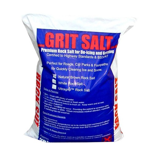Ultra Grip Rock Salt 25kg bag