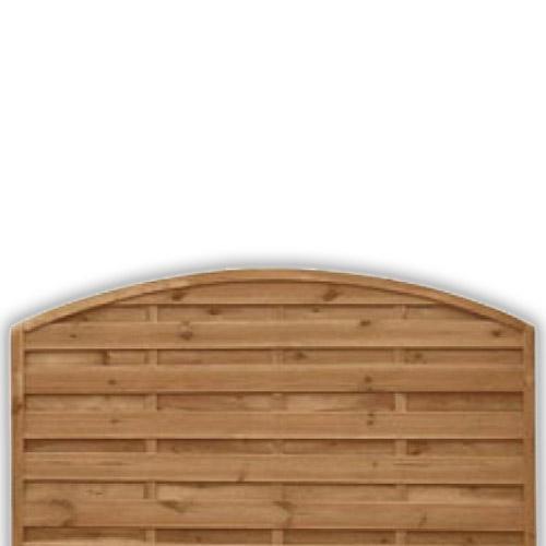 Devon Arch Fence Panel 900mm x 1800mm
