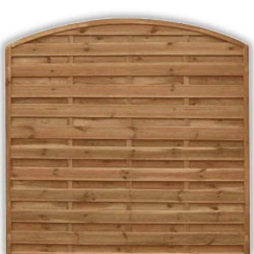 Devon Arch Fence Panel 1800mm x 1800mm