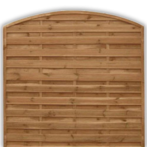 Devon Arch Fence Panel 1800mm x 1800mm
