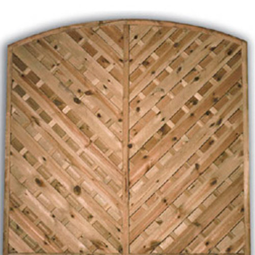 York Arch Fence Panel 1800mm x 1800mm