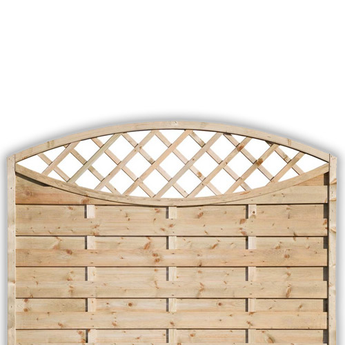 Sussex Oval Fence Panel 1200mm x 1800mm
