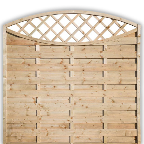 Sussex Oval Fence Panel 1800mm x 1800mm