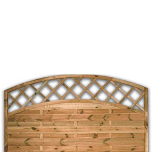 Sussex Arch Fence Panel 900mm x 1800mm