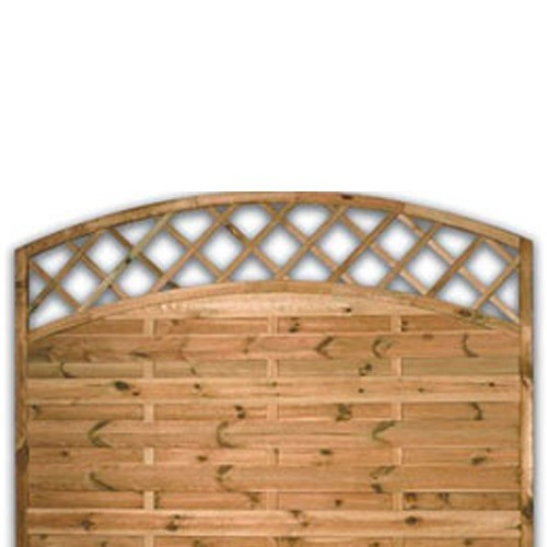 Sussex Arch Fence Panel 1200mm x 1800mm