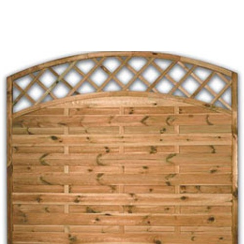 Sussex Arch Fence Panel 1500mm x 1800mm