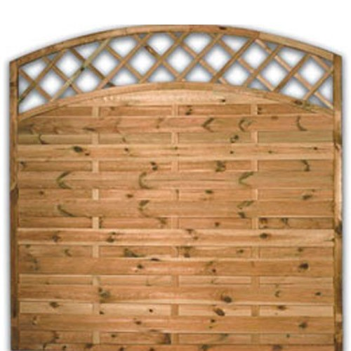 Sussex Arch Fence Panel 1800mm x 1800mm