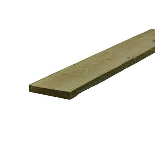 Treated Sawn Timber - 150mm x 22mm (6x1 Inches)