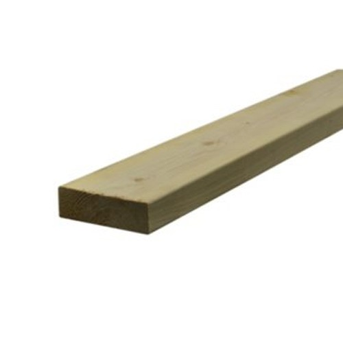 Treated Sawn Timber - 50mm x 150mm (6x2 Inches)